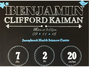Benjamin Kaiman newborn product image